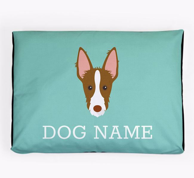 Personalised Icon Dog Bed for your Ibizan Hound