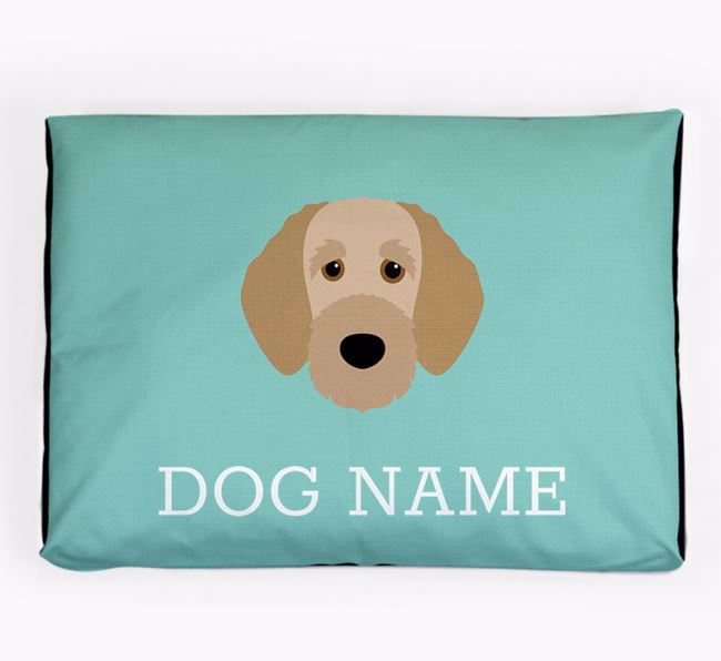 Personalised Icon Dog Bed for your Irish Doodle
