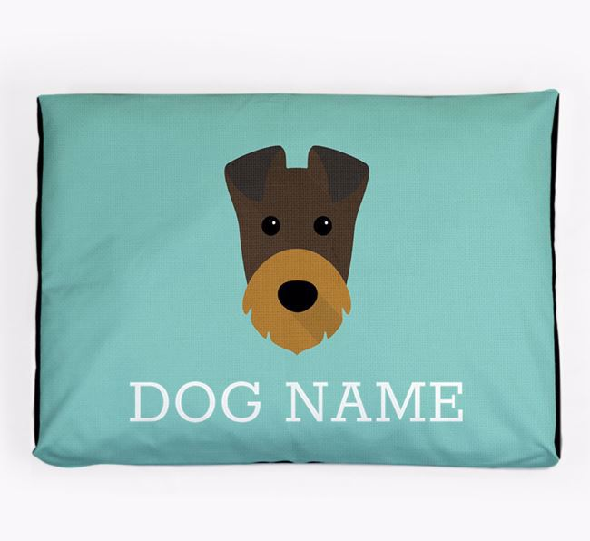 Personalised Icon Dog Bed for your Irish Terrier