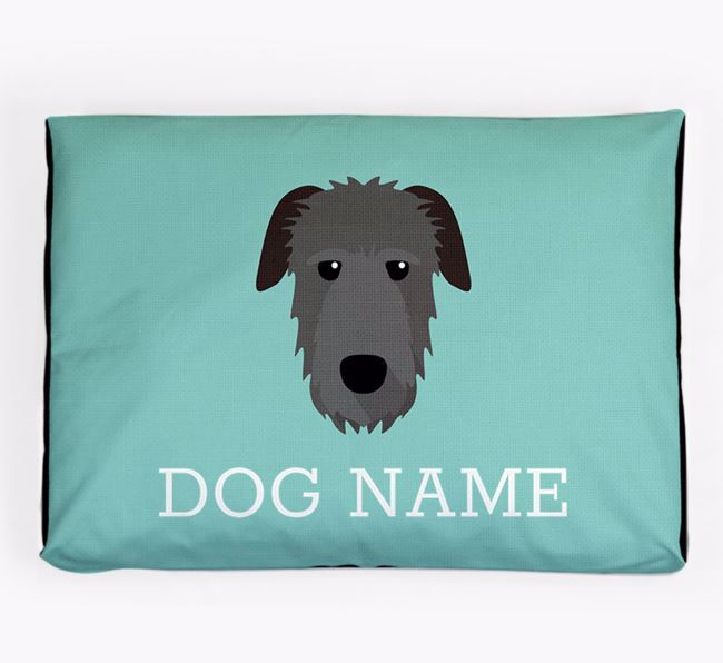 Personalised Icon Dog Bed for your Irish Wolfhound