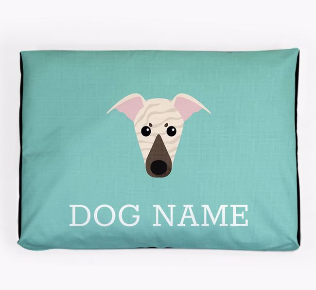 Personalised Icon Dog Bed for your Italian Greyhound