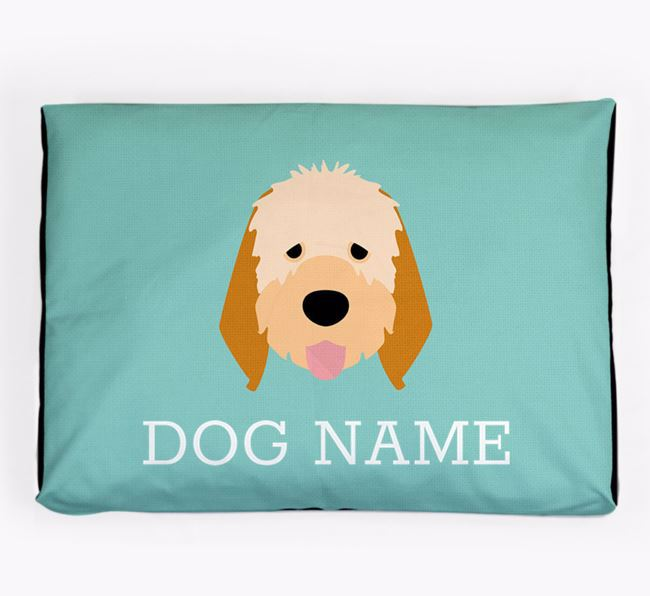 Personalised Icon Dog Bed for your Italian Spinone