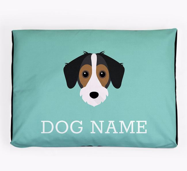 Personalised Icon Dog Bed for your Jack-A-Bee