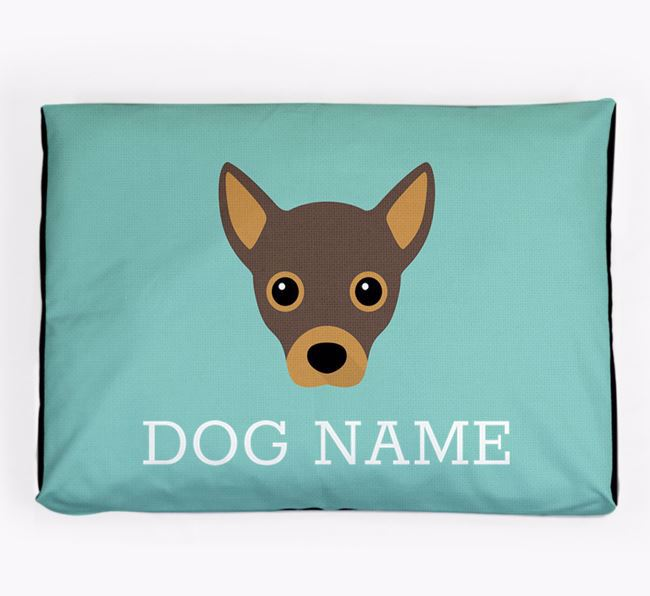 Personalised Icon Dog Bed for your Jackahuahua