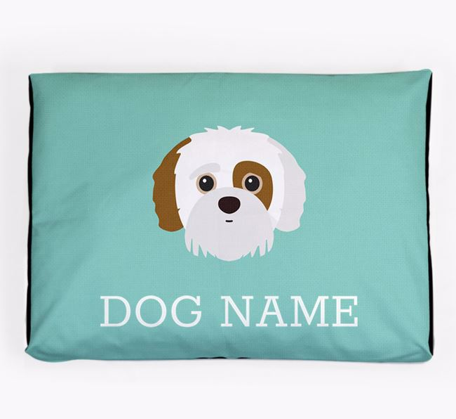 Personalised Icon Dog Bed for your Jack-A-Poo