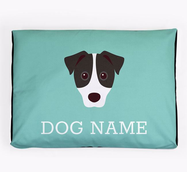 Personalised Icon Dog Bed for your Jack Russell Terrier