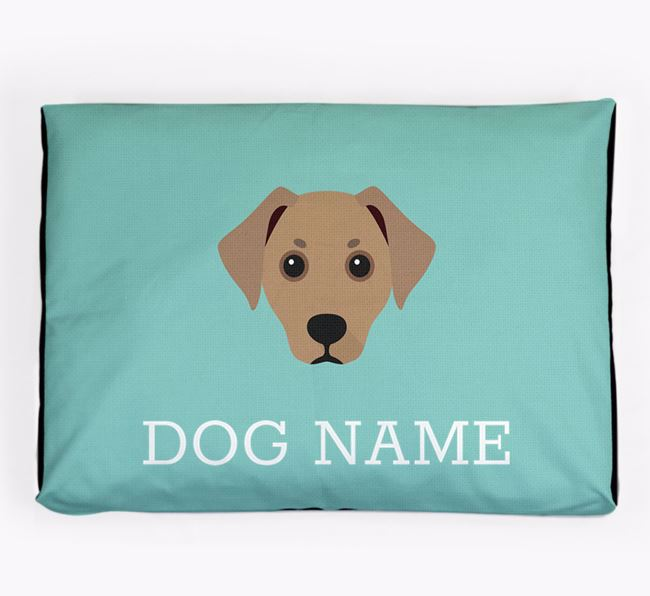 Personalised Icon Dog Bed for your Jackshund