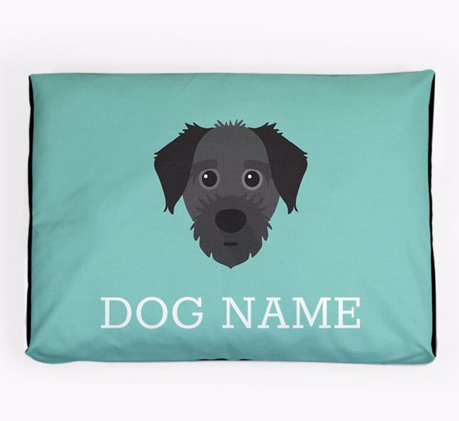 Personalised Icon Dog Bed for your Jacktzu