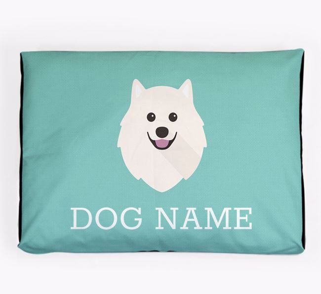 Personalised Icon Dog Bed for your Japanese Spitz