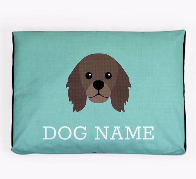 Personalised Icon Dog Bed for your King Charles Spaniel