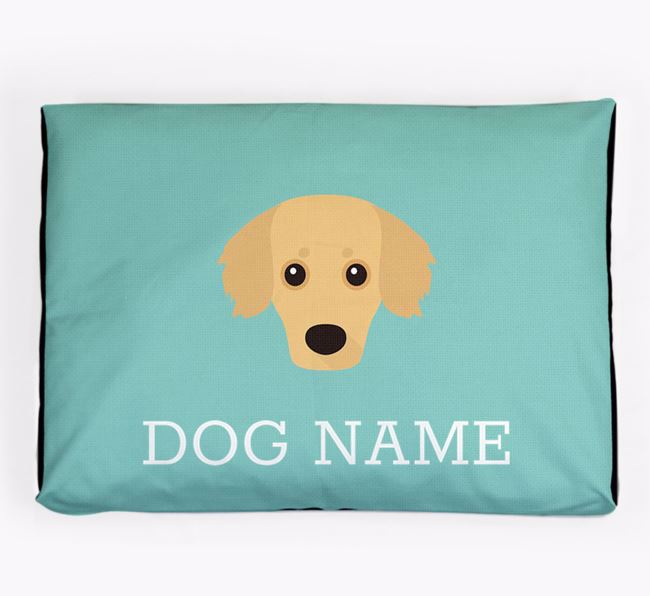 Personalised Icon Dog Bed for your Kokoni