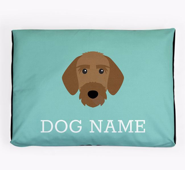 Personalised Icon Dog Bed for your Korthals Griffon