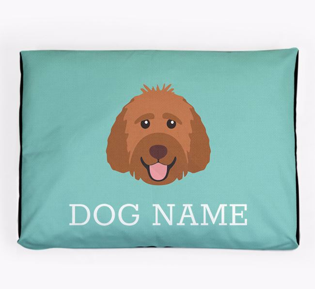 Personalised Icon Dog Bed for your Labradoodle