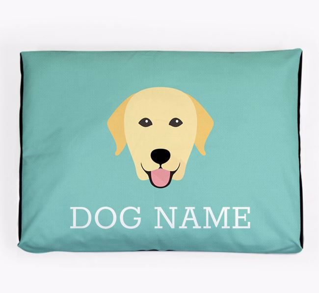 Personalised Icon Dog Bed for your Labrador Retriever