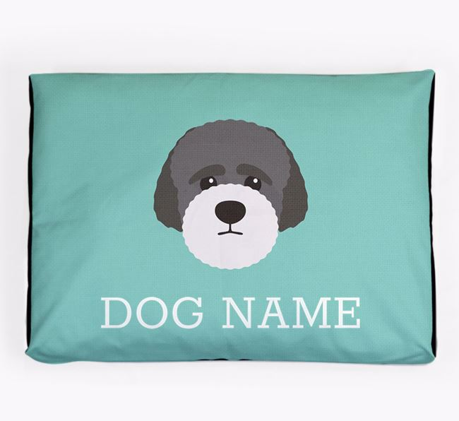 Personalised Icon Dog Bed for your Lagotto Romagnolo