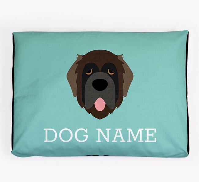 Personalised Icon Dog Bed for your Leonberger