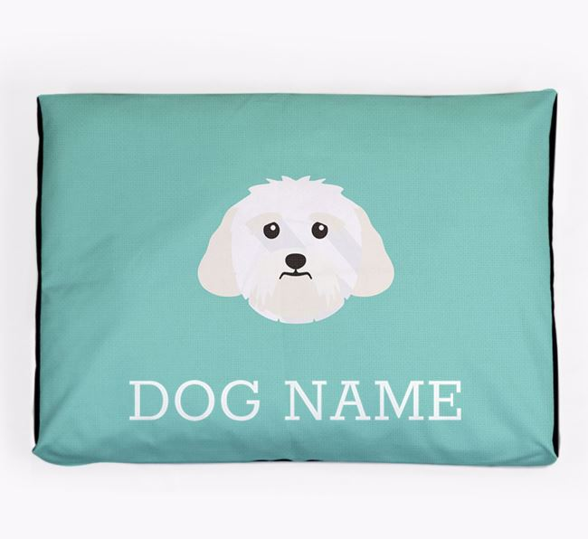 Personalised Icon Dog Bed for your Lhasa Apso