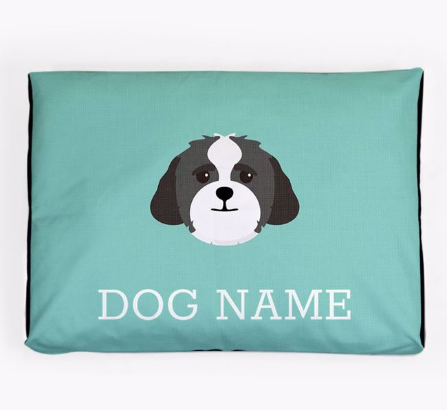 Personalised Icon Dog Bed for your Lhasapoo