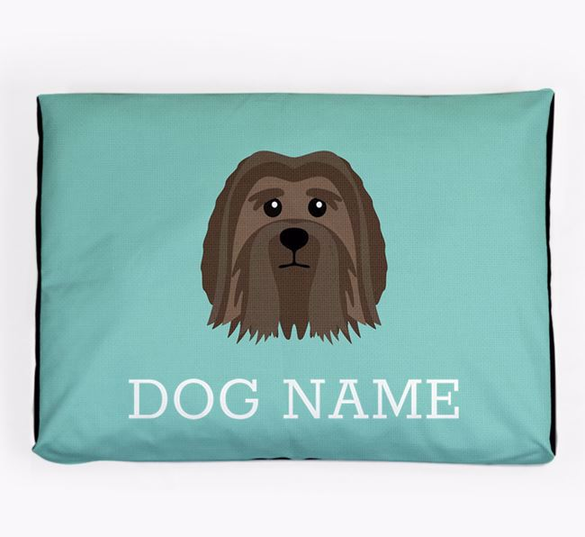 Personalised Icon Dog Bed for your Löwchen