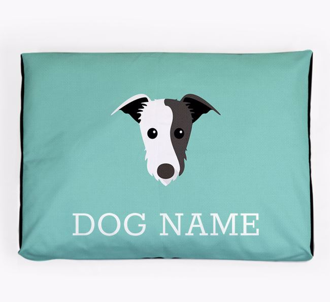 Personalised Icon Dog Bed for your Lurcher