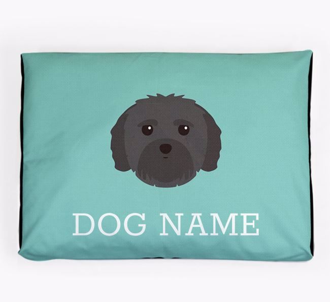 Personalised Icon Dog Bed for your Mal-Shi