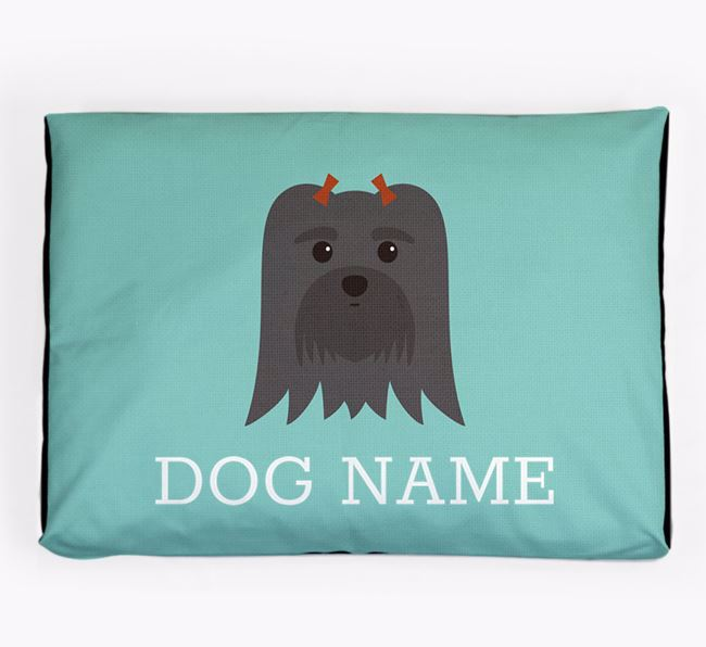Personalised Icon Dog Bed for your Maltese