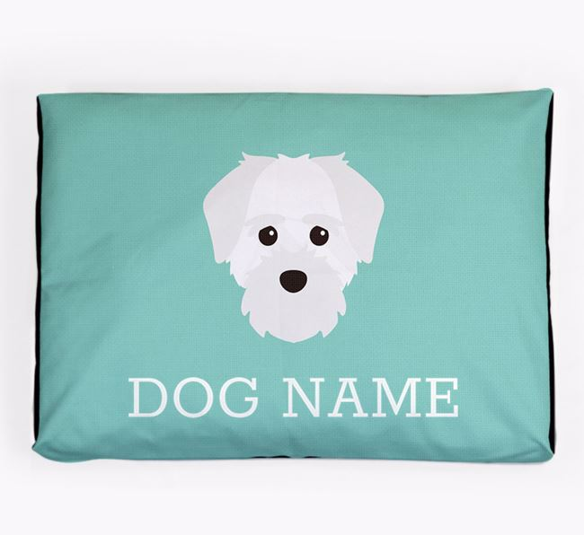 Personalised Icon Dog Bed for your Maltichon