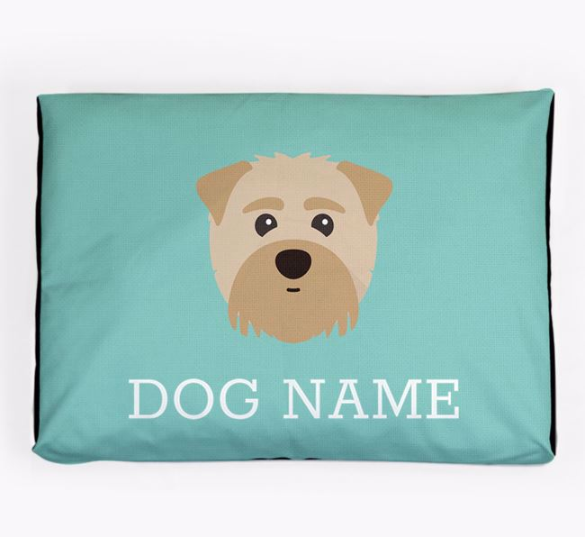 Personalised Icon Dog Bed for your Maltipom