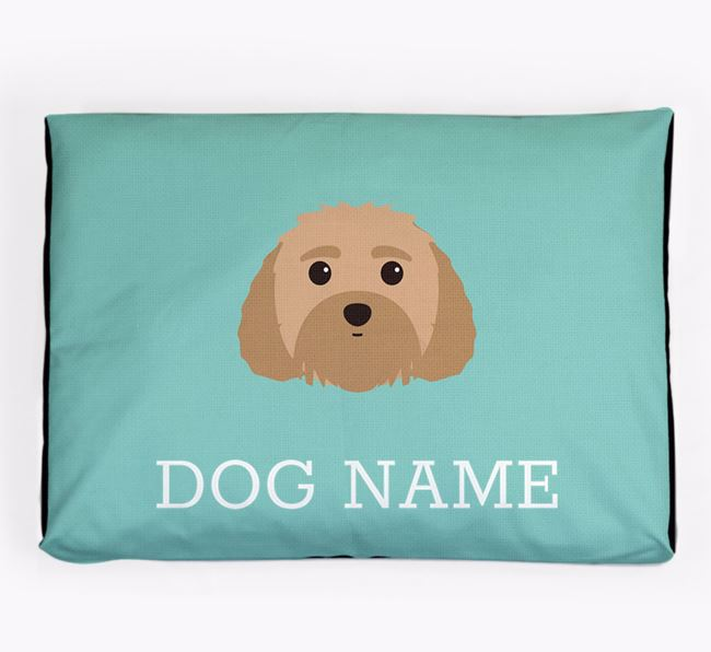 Personalised Icon Dog Bed for your Dog