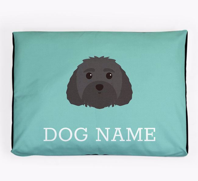 Personalised Icon Dog Bed for your Malti-Poo