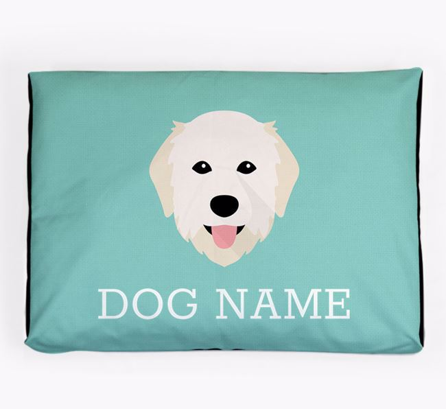 Personalised Icon Dog Bed for your Maremma Sheepdog
