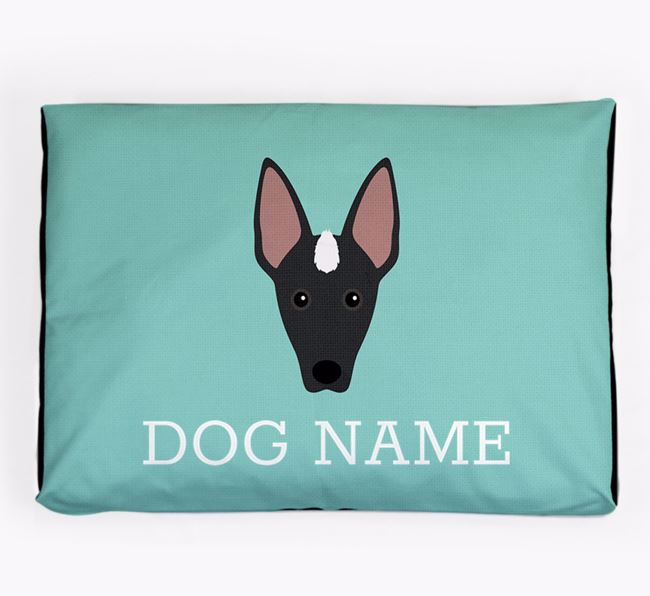 Personalised Icon Dog Bed for your Mexican Hairless