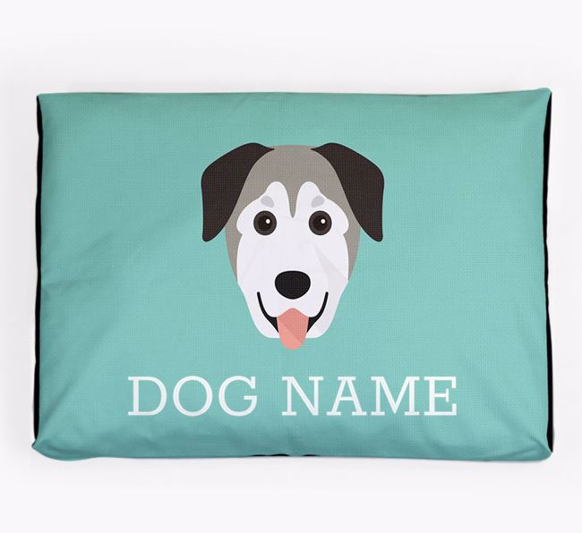 Personalised Icon Dog Bed for your Mixed Breed