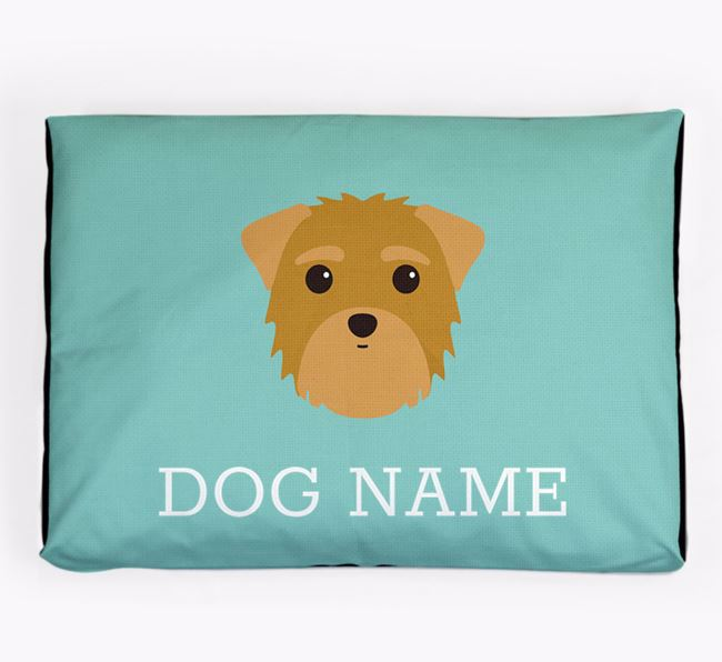 Personalised Icon Dog Bed for your Morkie
