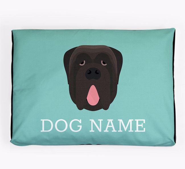 Personalised Icon Dog Bed for your Neapolitan Mastiff