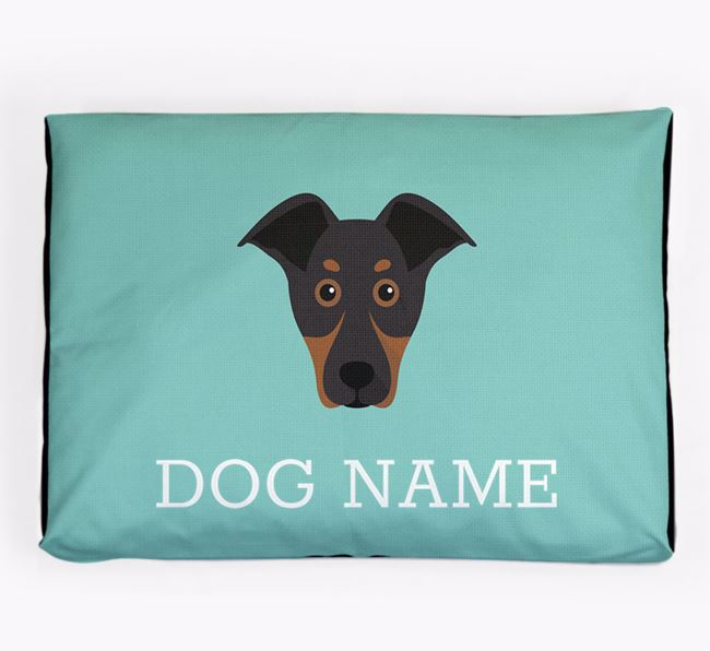 Personalised Icon Dog Bed for your New Zealand Huntaway