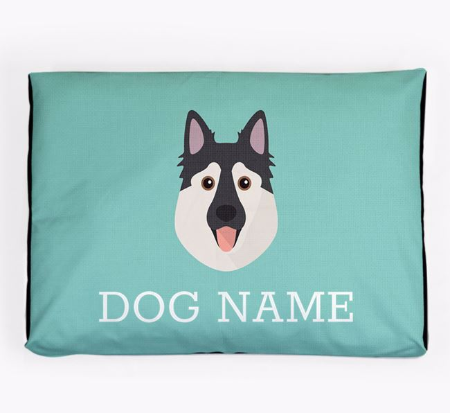 Personalised Icon Dog Bed for your Northern Inuit