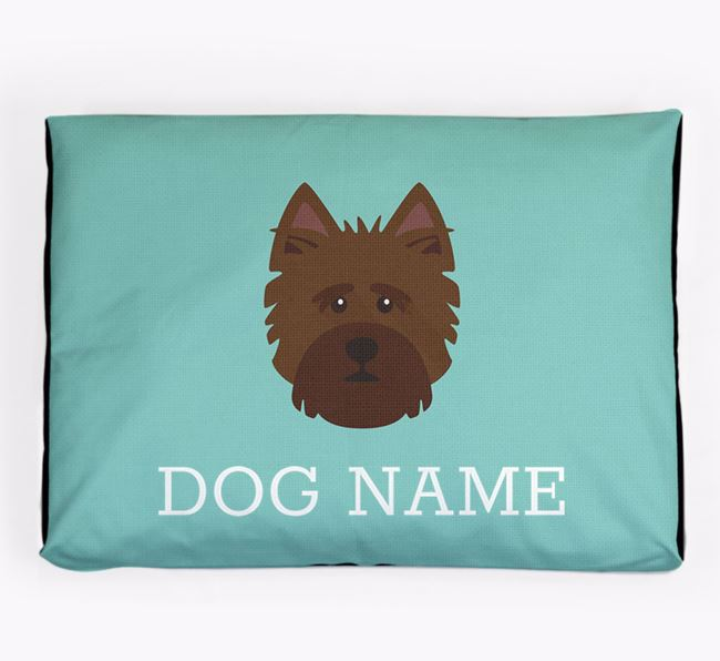 Personalised Icon Dog Bed for your Norwich Terrier