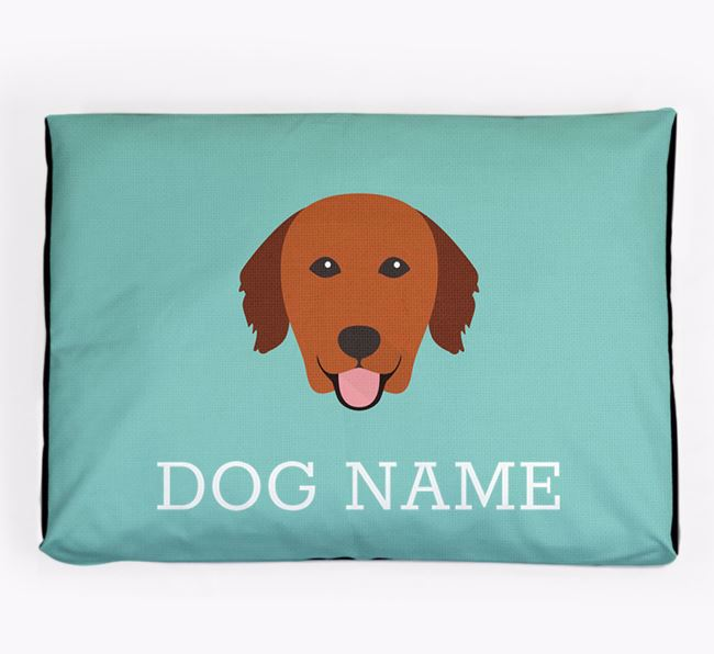 Personalised Icon Dog Bed for your Nova Scotia Duck Tolling Retriever