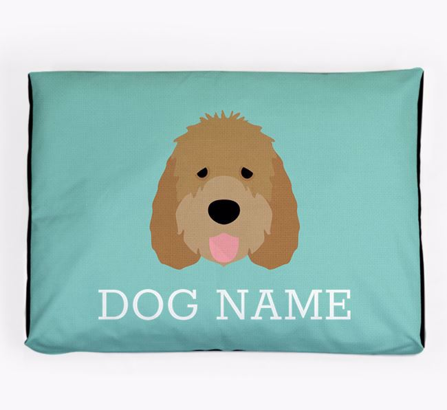Personalised Icon Dog Bed for your Otterhound
