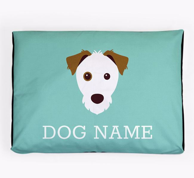 Personalised Icon Dog Bed for your Parson Russell Terrier