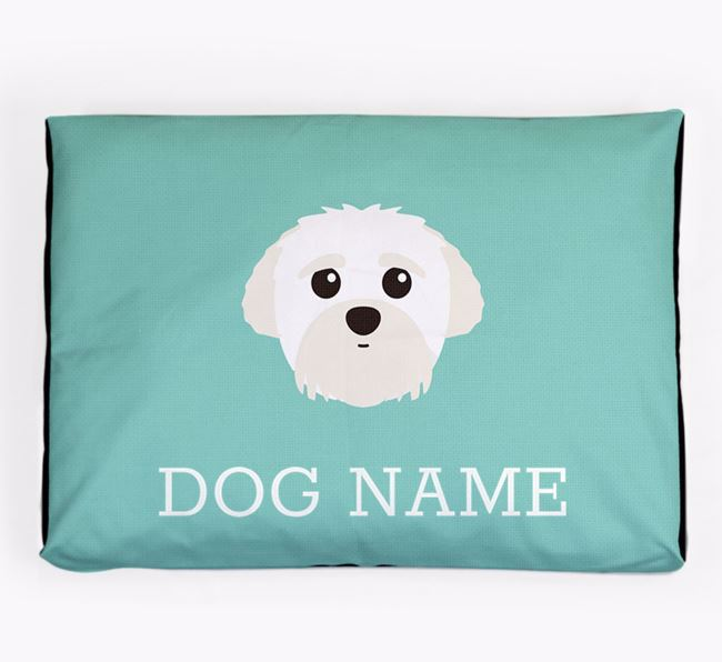 Personalised Icon Dog Bed for your Peek-a-poo