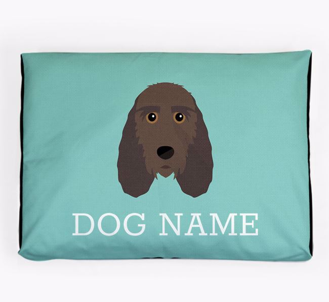 Personalised Icon Dog Bed for your Petit Basset Griffon Vendeen