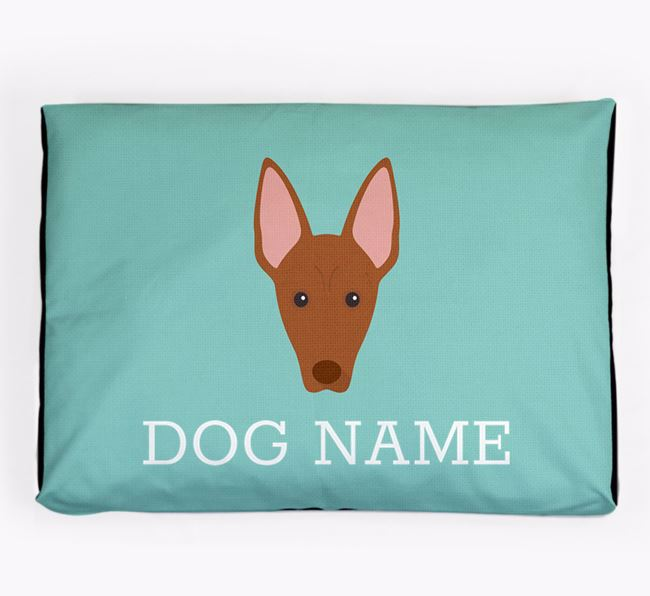 Personalised Icon Dog Bed for your Pharaoh Hound