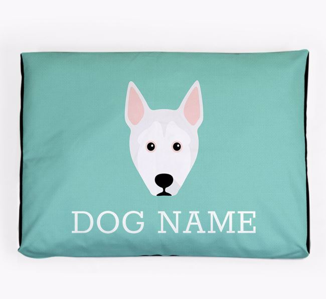 Personalised Icon Dog Bed for your Pitsky