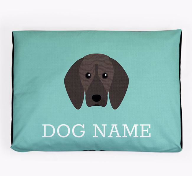 Personalised Icon Dog Bed for your Plott Hound