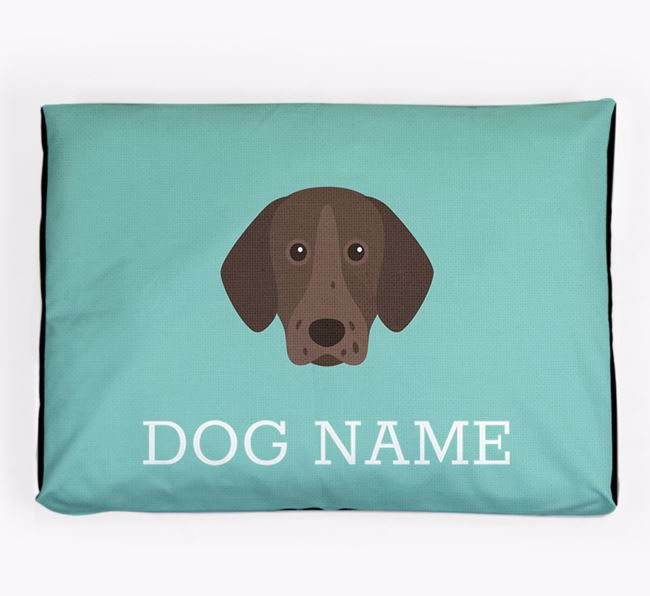 Personalised Icon Dog Bed for your Pointer