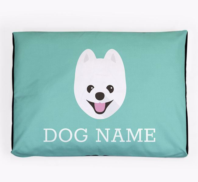 Personalised Icon Dog Bed for your Pomapoo