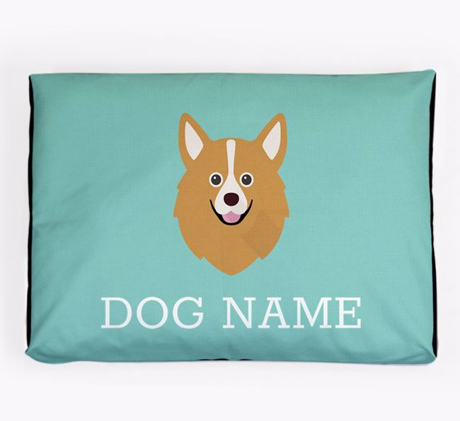 Personalised Icon Dog Bed for your Pomchi