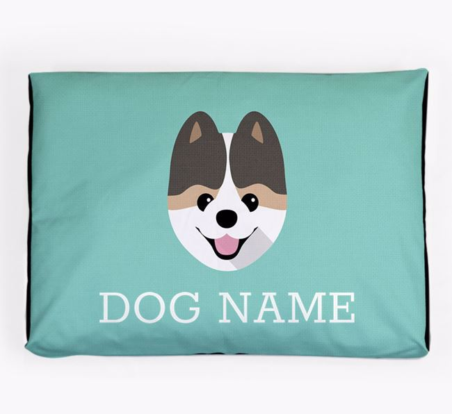 Personalised Icon Dog Bed for your Pomeranian